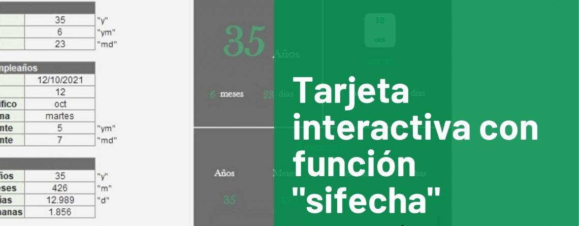 Tarjeta interactiva