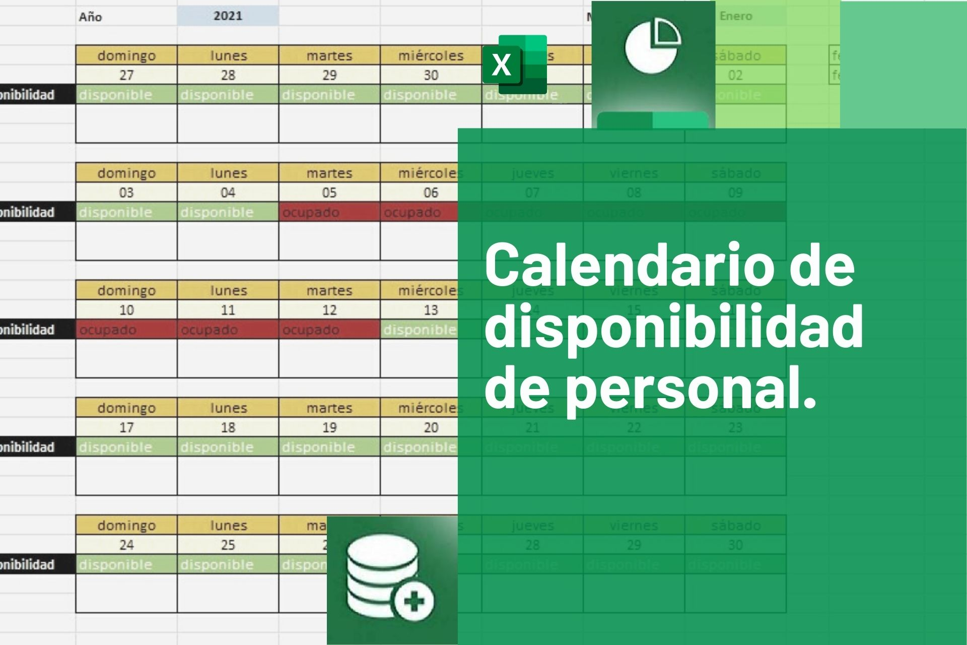 Calendario de personal