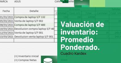 valuacion de inventario